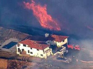 Fires Threaten Thousands of California Homes