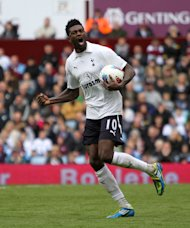 Emmanuel Adebayor is hoping to 'achieve great things' at Tottenham