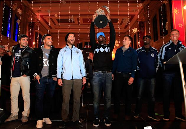 Sporting Kansas City 2013 MLS Cup Celebration