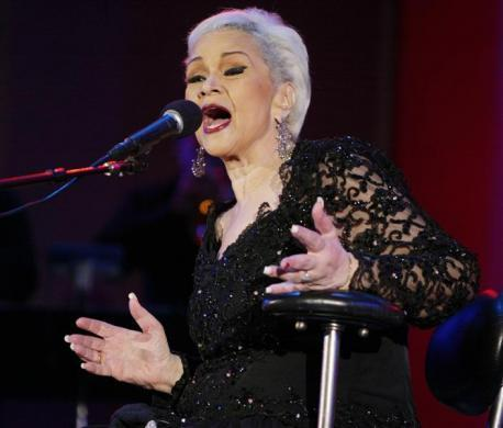 LEGENDARY JAZZ VOCALIST ETTA JAMES PERFORMS AT THE ANNUAL PLAYBOY JAZZ FESTIVAL AT THE HOLLYWOOD BOWL.