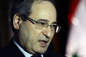 Faisal Muqdad answers AFP's journalists' questions…