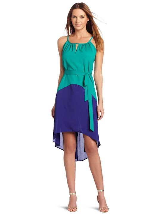 Tiana B High Low Halter Dress, $79.99