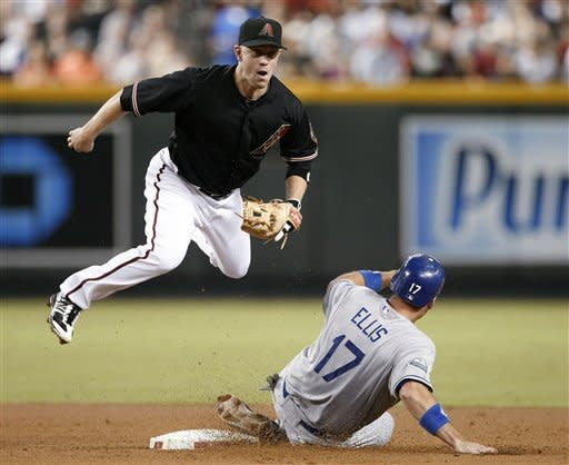 Cahill helps Diamondbacks edge Dodgers