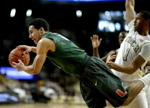Miami uses height to top Georgia Tech 62-49