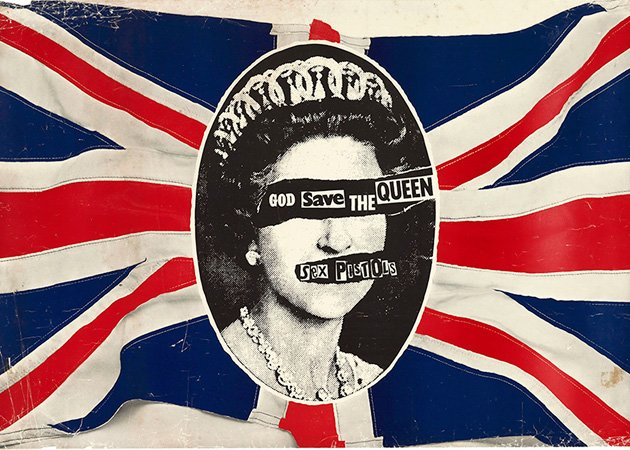 Sex Pistols, God Save the Queen. Olympics Opening Ceremony playlist