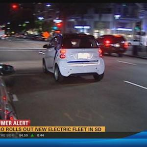 Car2Go rolls out new electric fleet in San Diego