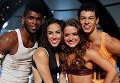 Cyrus Spencer, Eliana Girard, Tiffany Maher and Chehon Wespi-Tschopp  | Photo Credits: Adam Rose/Fox