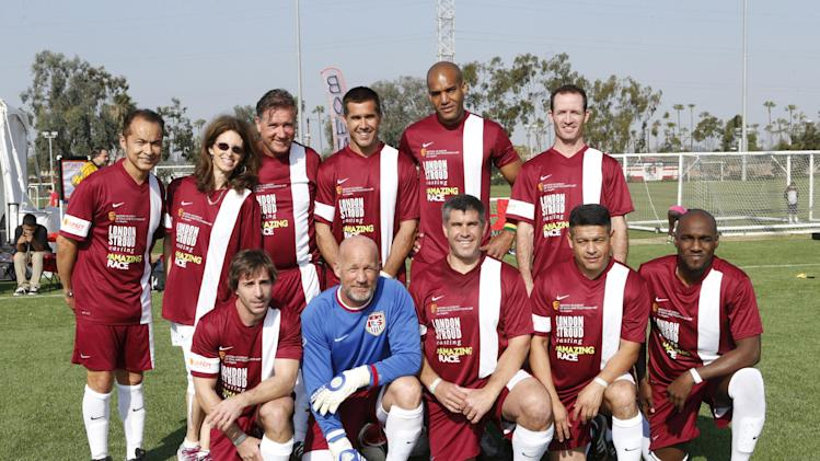 Team London/Stroud Casting attends the LAFEST LA Film and Entertainment Soccer Tournament, on Sunday, March 24, 2013 in Carson, California. (Photo by Todd Williamson/Invision for THR/AP Images)