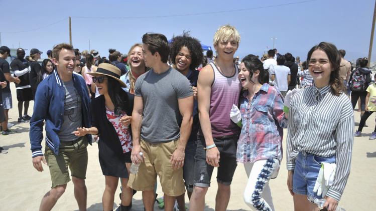 """Teen Beach Movie"" - Kent Boyd, Chrissie Fit, Mollee Gray, John Deluca, Jordan Fisher, Ross Lynch, Grace Phipps, Maia Mitchell"
