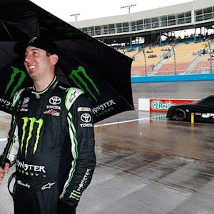 Busch in seventh heaven after winning at PIR