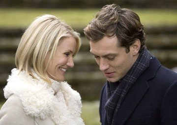 Cameron Diaz and Jude Law in Columbia Pictures' The Holiday
