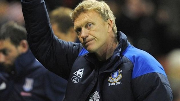 Everton boss David Moyes (AFP)