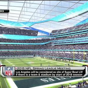 Will an NFL team play in Los Angeles by 2016?