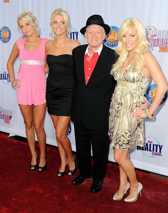 Hefner Hugh Girls FOX Reality Aw