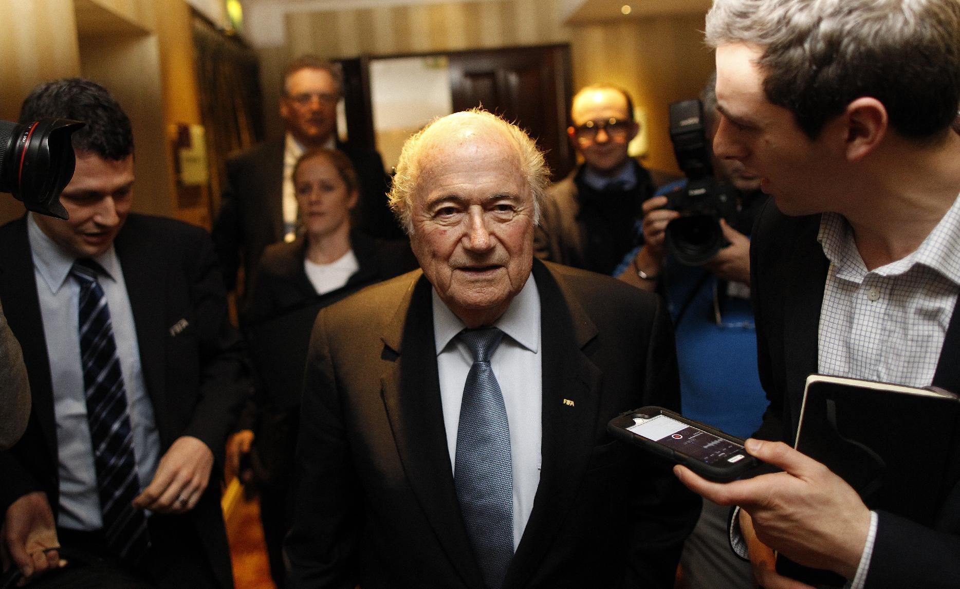 Dutch candidate for FIFA presidency wants more transparency
