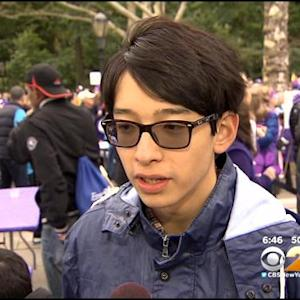 Teen Honored At Alzheimer's Research Fundraiser At Riverside Park