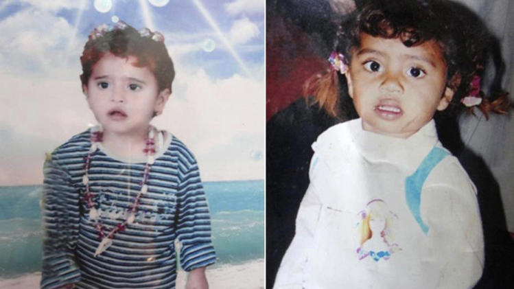 This combination of two undated family photos photos shows four-year old Banin Haider, left, and five-year old Abeer Ali, right, who were brutally raped and killed in a span of less than two months this year. The crimes were particularly brutal, even by the standards of a country where insurgents can still kill dozens in single day: Two young girls kidnapped, repeatedly raped and killed with blows to the head in Iraq's southern Basra province. (AP Photo/Family Photo)