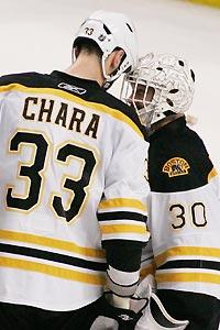 Bruins find way to let air out of the puck