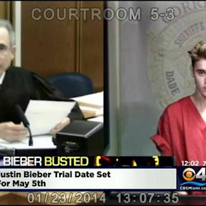 Trial Date Set For Hearing Tuesday For Bieber's Miami Beach DUI Case