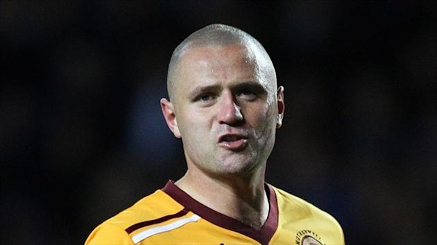 Stuart McCall hopes Michael Higdon, pictured, stays at the club