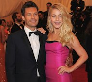 Ryan Seacrest and Julianne Hough step out at the &#39;Schiaparelli And Prada: Impossible Conversations&#39; Costume Institute Gala at the Metropolitan Museum of Art in New York City on May 7, 2012 -- Getty Images