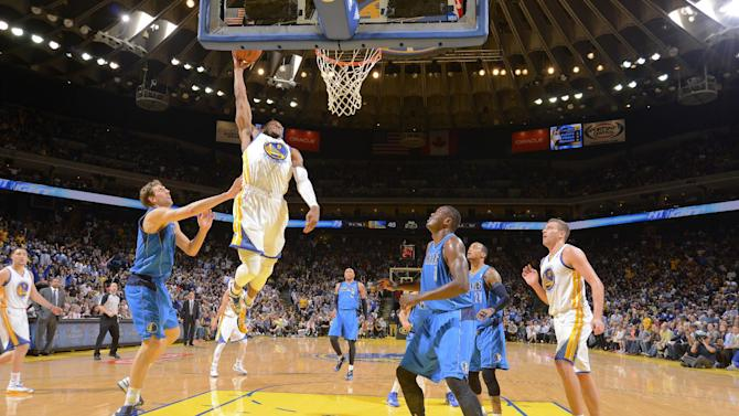 Warriors whip Mavs 108-85 for 5th straight win