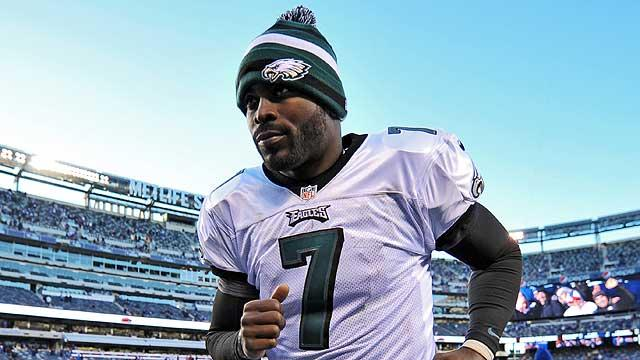 Will Vick stay with Eagles?