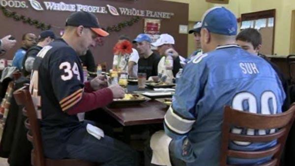 Wounded veterans treated to NFL games
