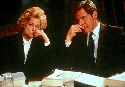 Melanie Griffith and Harrison Ford in 20th Century Fox's Working Girl
