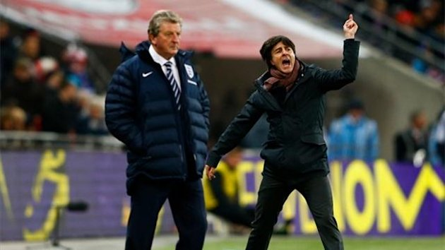 Roy Hodgson and Joachim Loew