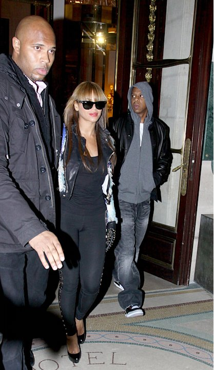Knowles JayZ Paris