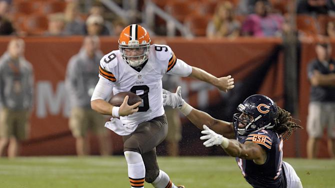 Browns rookie Connor Shaw to start finale
