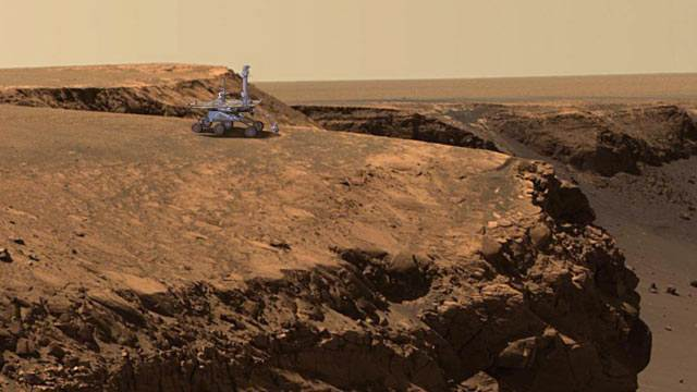 Mars Rover: 9 Years and Still Going