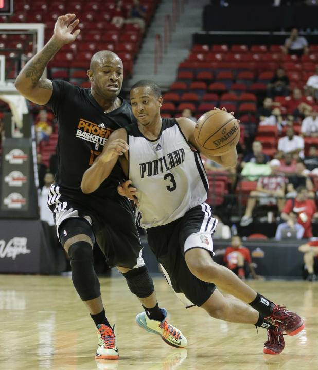 Suns Trail Blazers Basketball