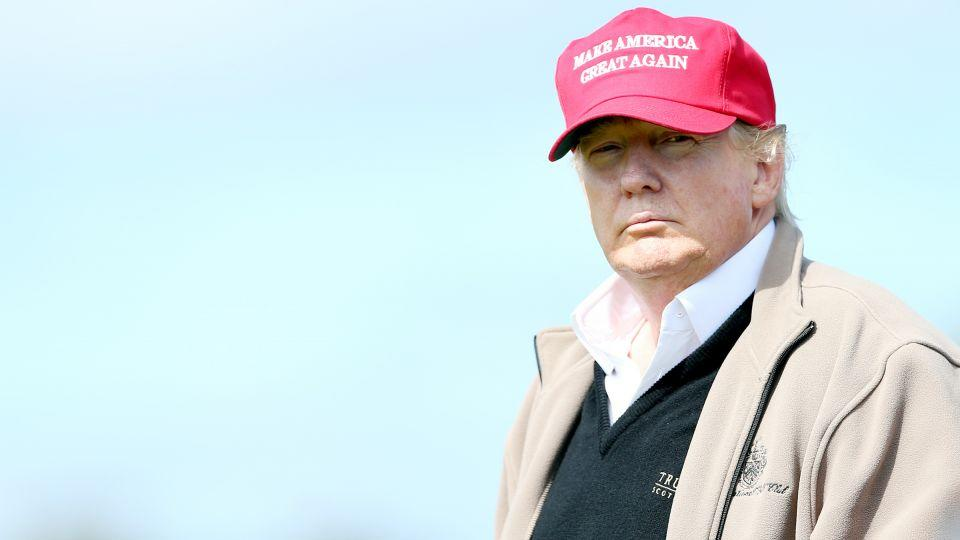 Donald Trump Seeks Wall to Protect Golf Course From Climate Change