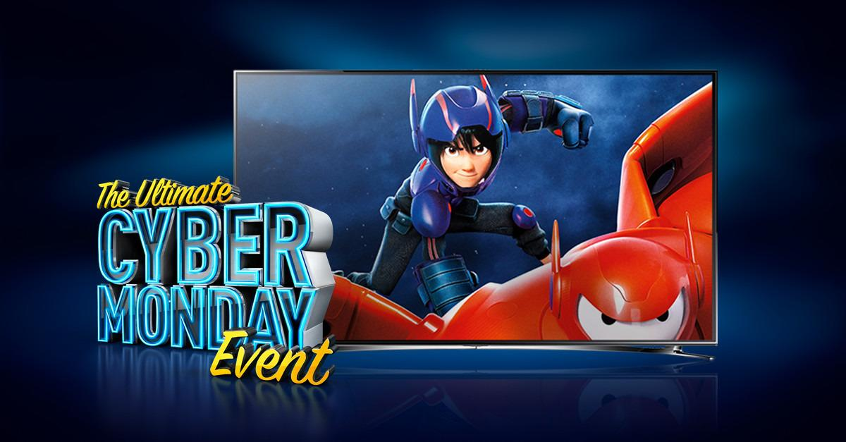 Switch to DIRECTV this Cyber Monday