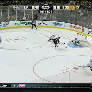 Jonathan Quick Save on Gregory Campbell (06:33/3rd)