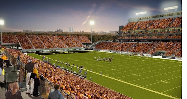 New Hamilton CFL stadium