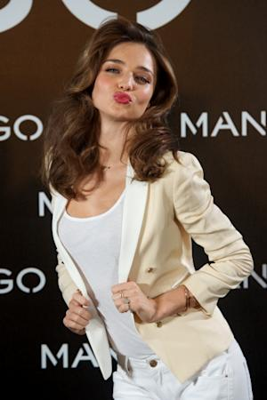 Miranda Kerr is announced as the new Face of Mango at the Villamagna Hotel on December 11, 2012 in Madrid -- Getty Images