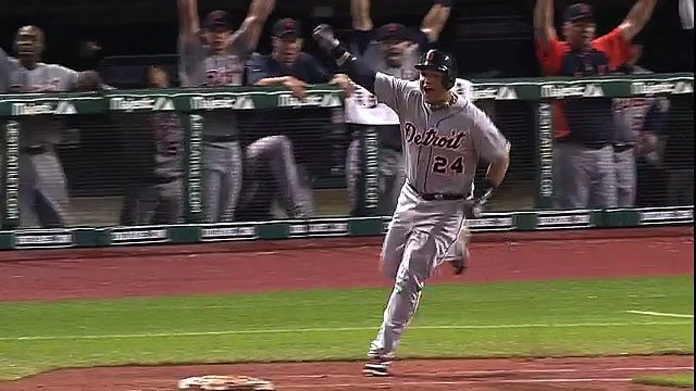 Miguel Cabrera home run assist