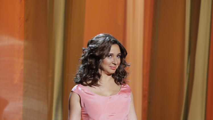 "This photo released by NBC shows Maya Rudolph in a scene from ""The Maya Rudolph Show."" NBC says it's weighing bringing back Maya Rudolph's variety show. In May, the actress-comedian starred in ""The Maya Rudolph Show,"" a special that combined comedy and music. NBC executives told a TV critics' meeting Sunday, July 13, 2014, that they're in discussions with the actress-comedian about what the program would look like if it returned. They are looking for a format that would put Rudolph on the air on a regular or occasional basis. (AP Photo/NBC, Paul Drinkwater)"