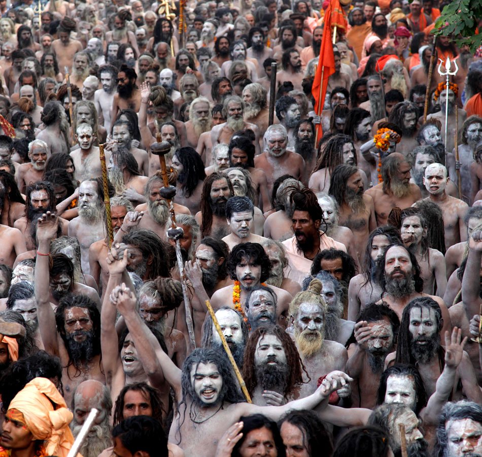 Kumbh Mela Held In Haridwar