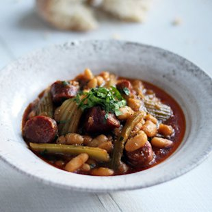 Celery Chorizo and Cannellini Bean Stew: Recipes