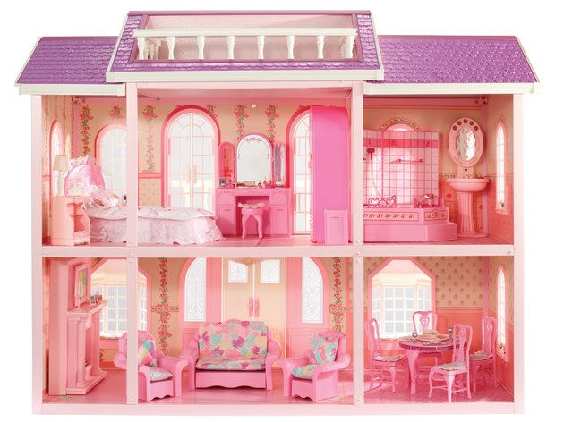 Barbie Dreamhouse through the decades 1990