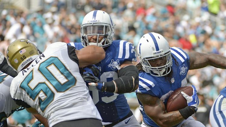 Richardson brings power to Colts run game