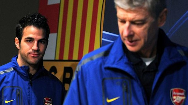 Barcelona-Arsenal Wenger Fabregas (2010-2011 Champions League)