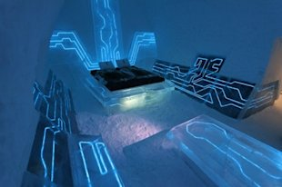 Tron Ice Room