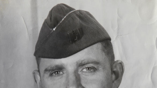 This February 1964 photo provided by Gerald Adler shows Air Force Capt. Gerald Adler. Adler survived the crash of a B-52 bomber 50 years ago in Maine. Adler, 81, who lives in Davis, Calif., was a navigator aboard the bomber and one of only two who survived the crash that took the lives of seven others. (AP Photo/Rich Pedroncelli)