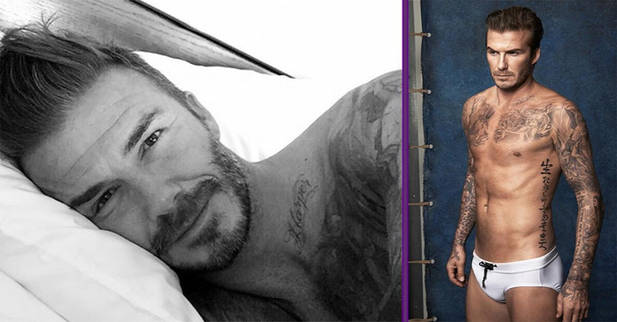 David Beckham Has A Health Message For His Fans