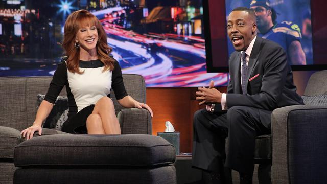 Kathy Griffin Chased Down Seattle Seahawk's Marshawn Lynch